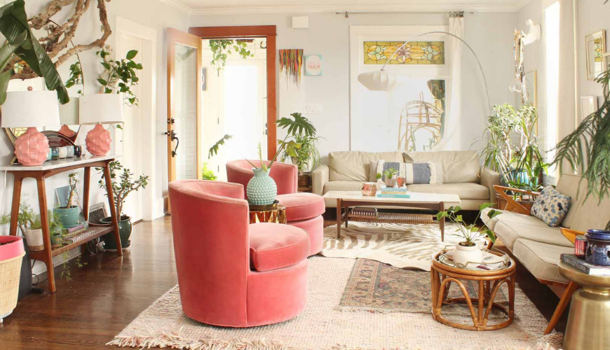 A Mid-Century Modern Home In Seattle That Gives Us Tropical Vibes