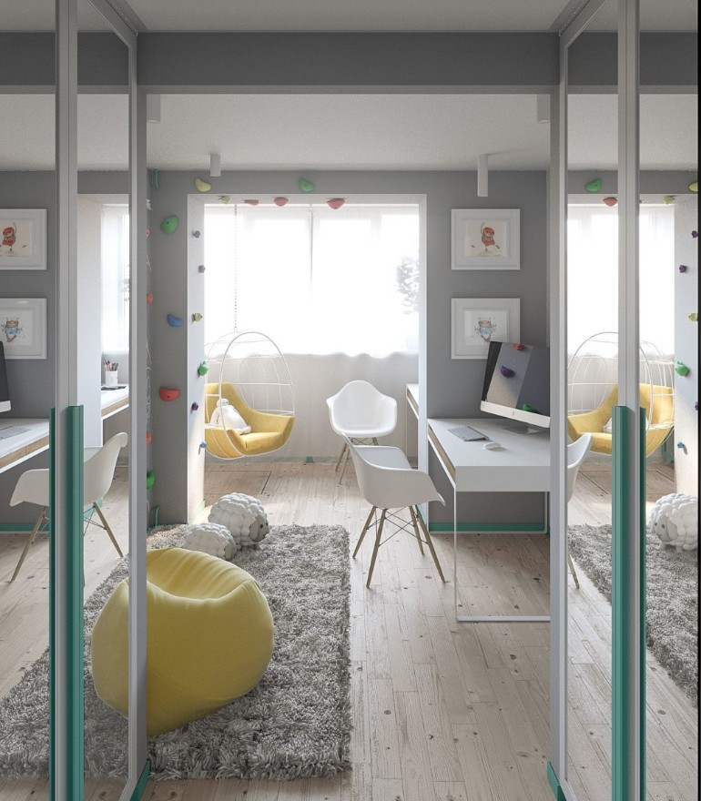 modern apartment A Modern Apartment In Kiev Featuring Scandinavian Style And Pastels A Modern Apartment In Kiev Featuring Scandinavian Style And Pastels 10