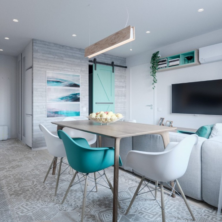 A Modern Apartment In Kiev Featuring Scandinavian Style And Pastels modern apartment A Modern Apartment In Kiev Featuring Scandinavian Style And Pastels A Modern Apartment In Kiev Featuring Scandinavian Style And Pastels 3