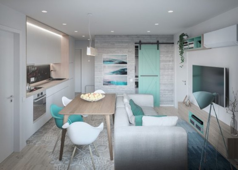 A Modern Apartment In Kiev Featuring Scandinavian Style And Pastels modern apartment A Modern Apartment In Kiev Featuring Scandinavian Style And Pastels A Modern Apartment In Kiev Featuring Scandinavian Style And Pastels 4