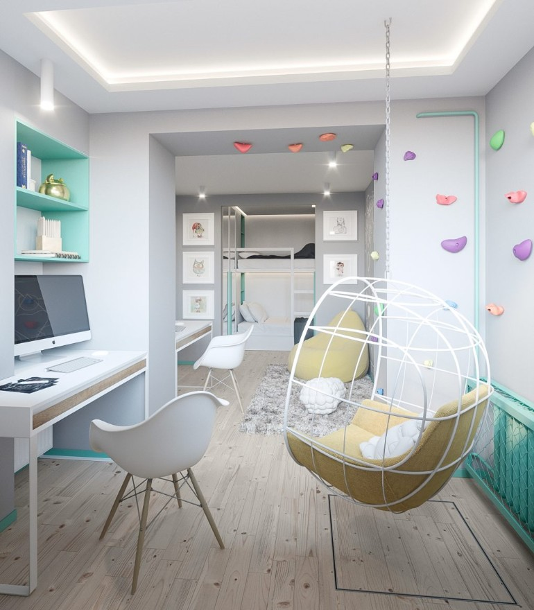 modern apartment A Modern Apartment In Kiev Featuring Scandinavian Style And Pastels A Modern Apartment In Kiev Featuring Scandinavian Style And Pastels 9