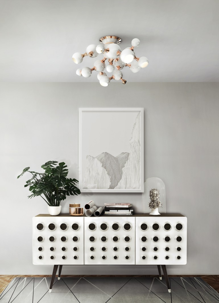 white finish Decorate Your Living Room With These White Finish Lamps Decorate Your Living Room With These White Finish Lamps 2