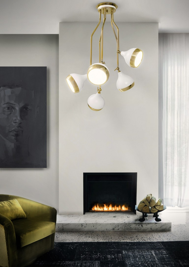 white finish Decorate Your Living Room With These White Finish Lamps Decorate Your Living Room With These White Finish Lamps 4