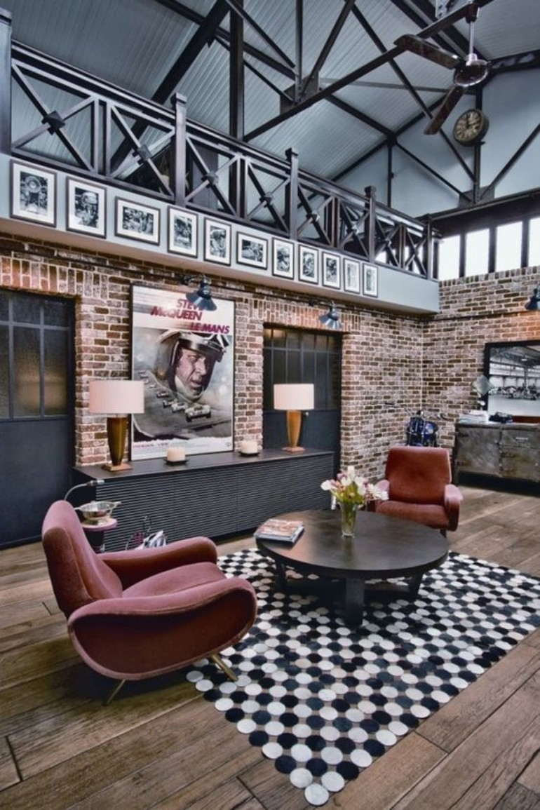 Industrial Living Room Design Ideas You Need To Check Out Now! industrial living room design Industrial Living Room Design Ideas You Need To Check Out Now! Industrial Living Room Design Ideas You Need To Check Out Now 5