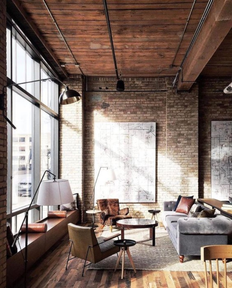industrial living room design Industrial Living Room Design Ideas You Need To Check Out Now! Industrial Living Room Design Ideas You Need To Check Out Now 6