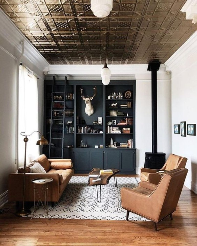 industrial living room design Industrial Living Room Design Ideas You Need To Check Out Now! Industrial Living Room Design Ideas You Need To Check Out Now 7