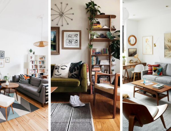 Mid-Century Modern Living Rooms That Will Brighten Your Home Decor!