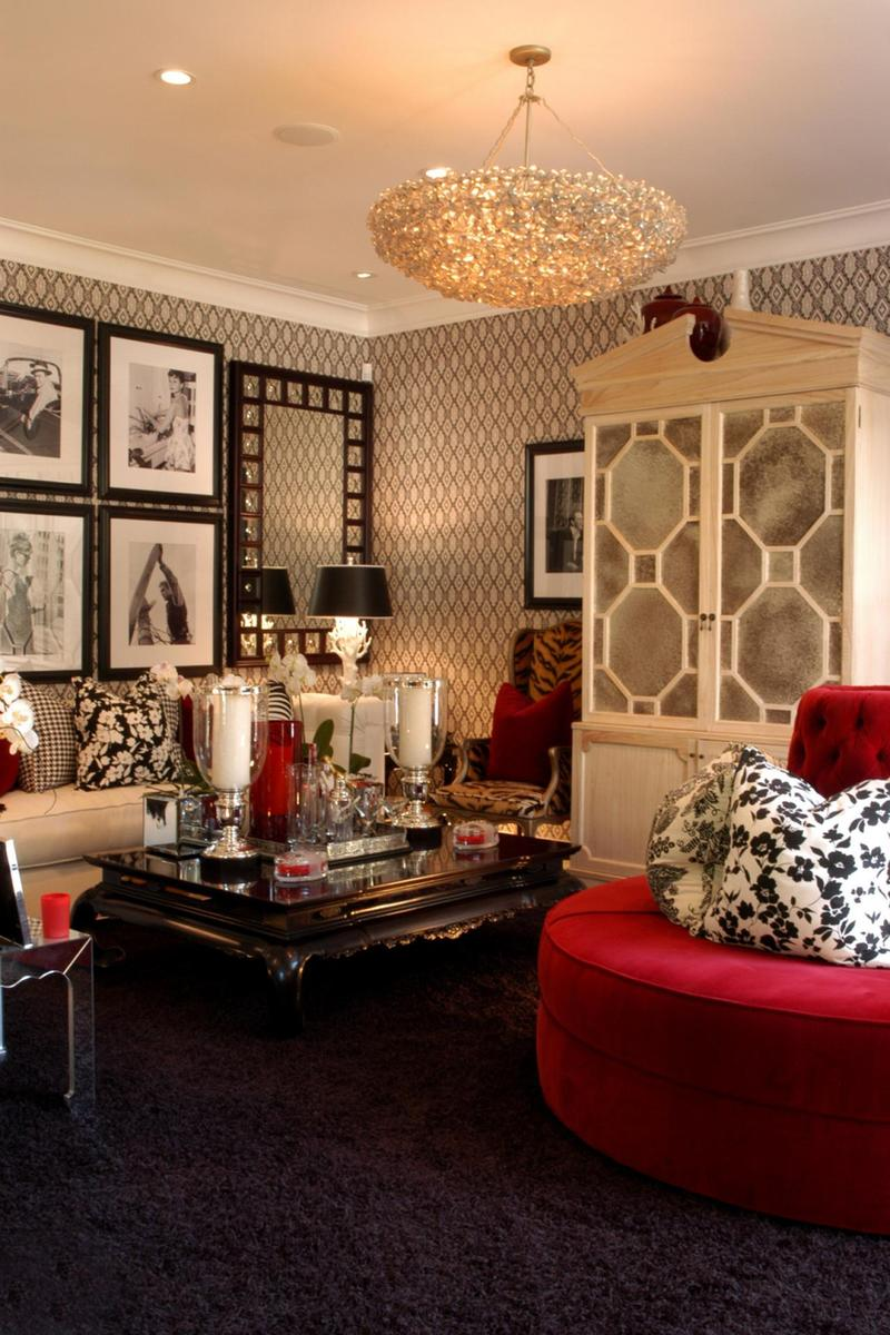 hollywood glam What's Hot On Pinterest Give Your Living Room A Hollywood Glam Look! Whats Hot On Pinterest Give Your Living Room A Hollywood Glam Look 2