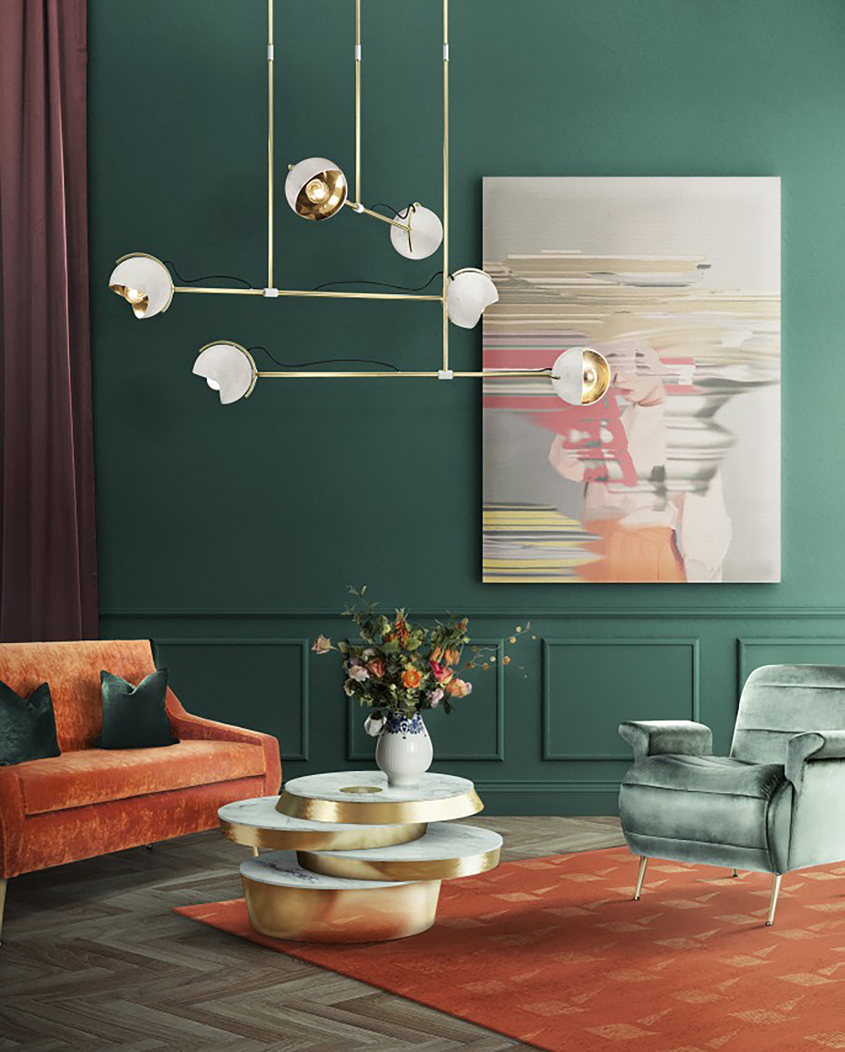green living room designs 6 Green Living Room Designs That Are Going To Blow Your Mind 6 Green Living Room Designs That Are Going To Blow Your Mind 4
