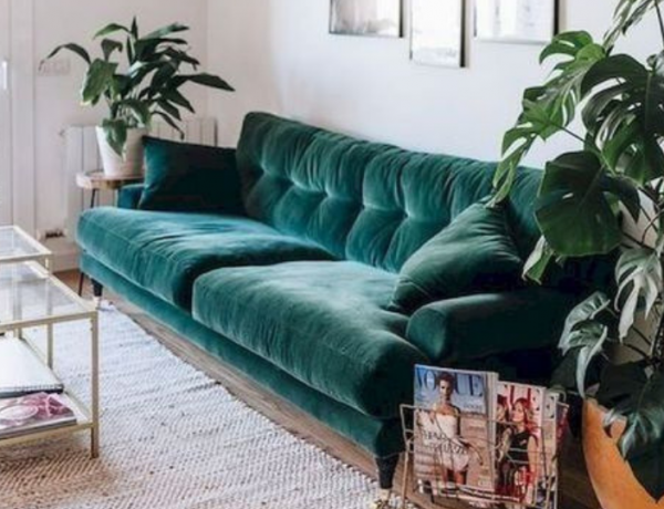 Velvet Sofas Are Your New Best Friend In Living Room Decor