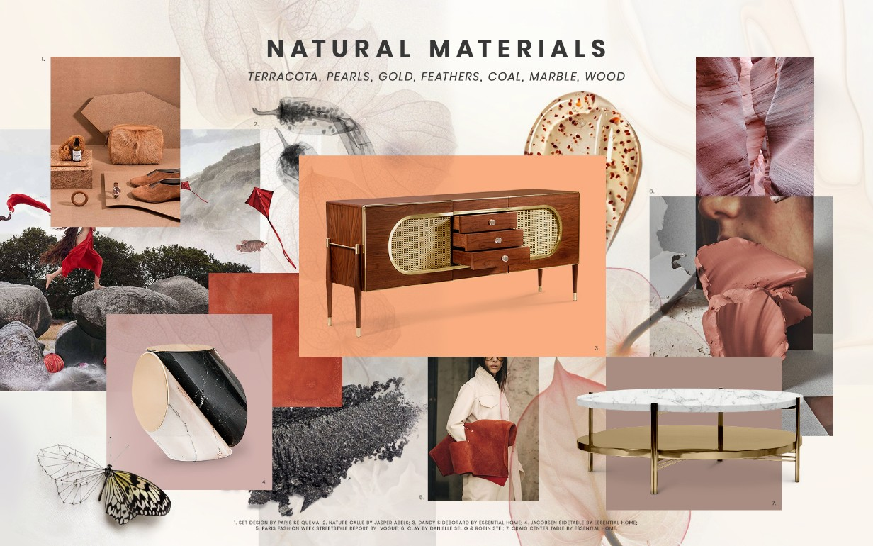 More Home Decor Trends For 2019 You Need To Know About home decor trends More Home Decor Trends For 2019 You Need To Know About natural materials design trends 2019 1