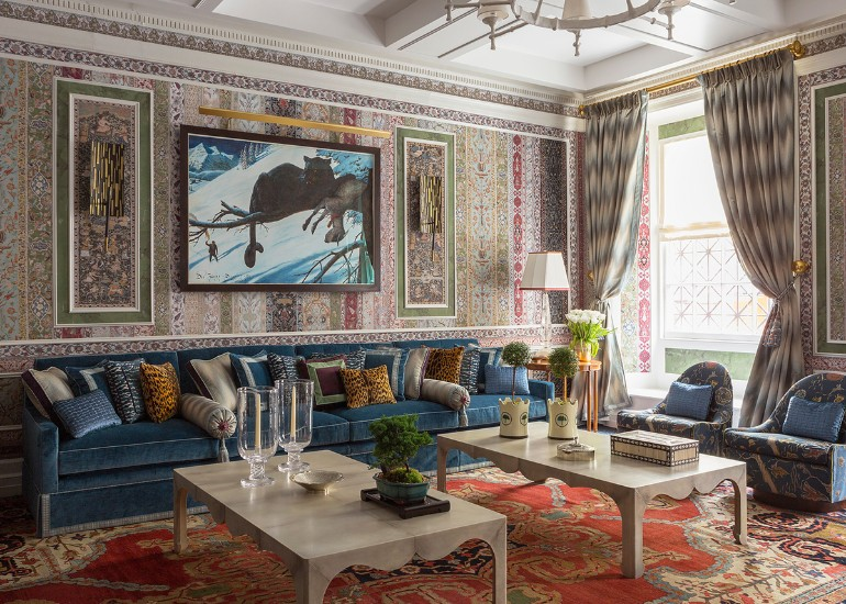 A Maximalist Living Room With All The Right Trends maximalist living room A Maximalist Living Room With All The Right Trends A Maximalist Living Room With All The Right Trends 6