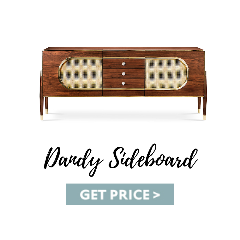 Dandy sideboard mid-century living room A Mid-Century Living Room In Kansas That Take Us Back In Time Dandy sideboard