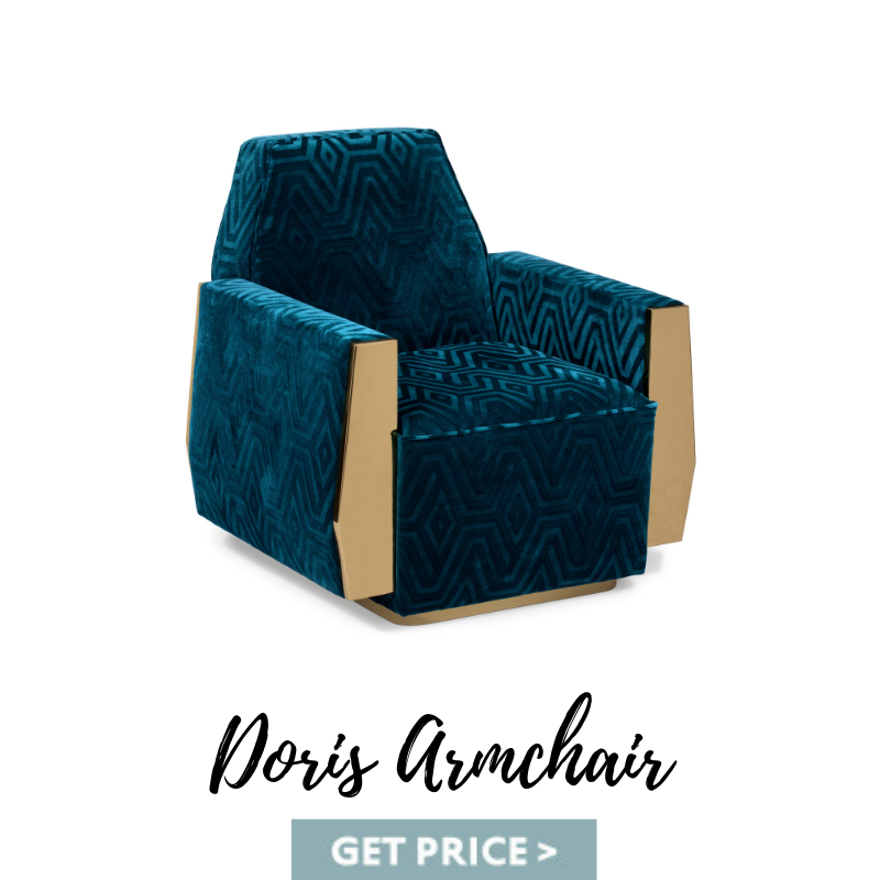 Doris Armchair mid-century armchairs Spring Decor: Best Mid-Century Armchairs For A Colorful Living Room Doris Armchair