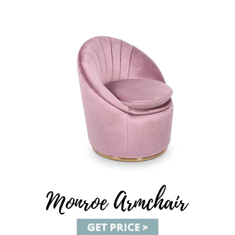 Monroe Armchair mid-century armchairs Spring Decor: Best Mid-Century Armchairs For A Colorful Living Room Monroe Armchair