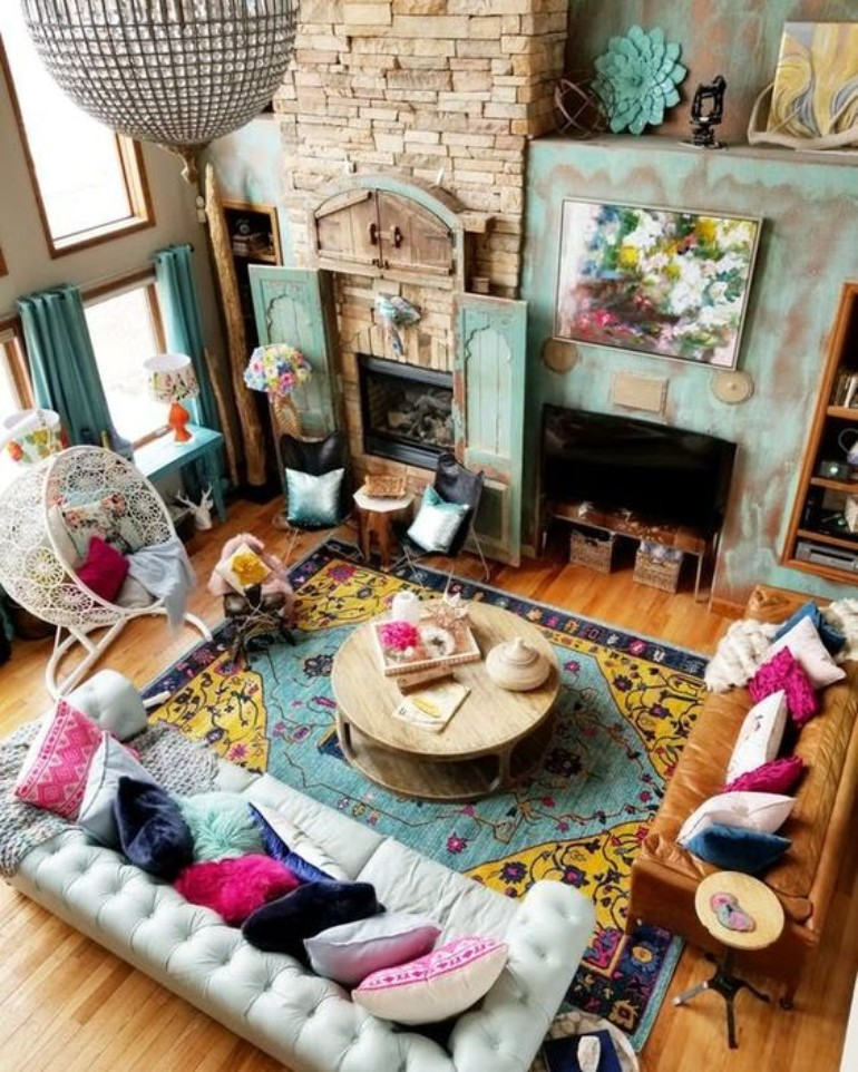 5 Maximalist Living Rooms You'll Want To Replicate