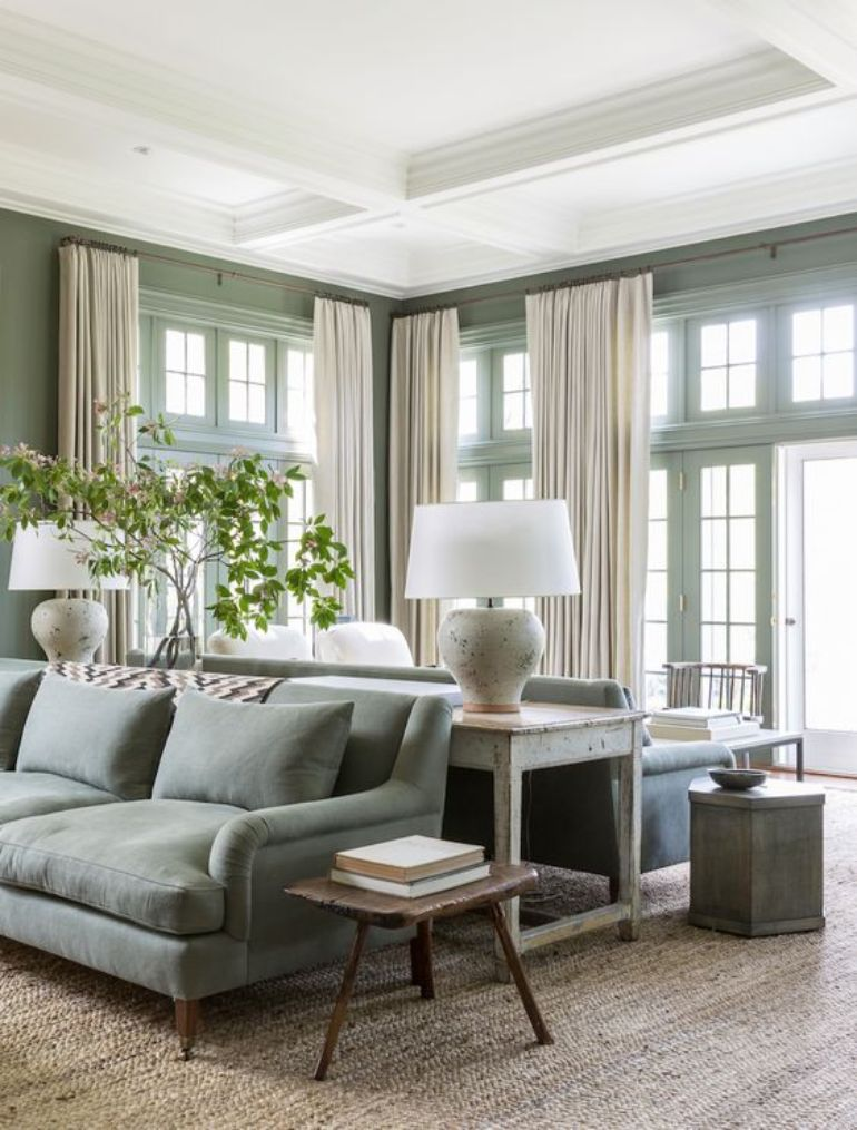 green living room Go Green This Summer! Here's The Best Green Living Room Ideas 014211738b94f574f88c2102a2d449f6 2 1