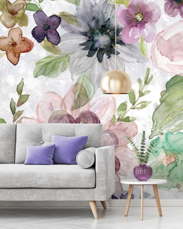 Floral Wallpapers For A Summer Living Room Decor floral wallpapers Floral Wallpapers For A Summer Living Room Decor 1f0d2ba9b366eb214dbb0eaade512591 2 1