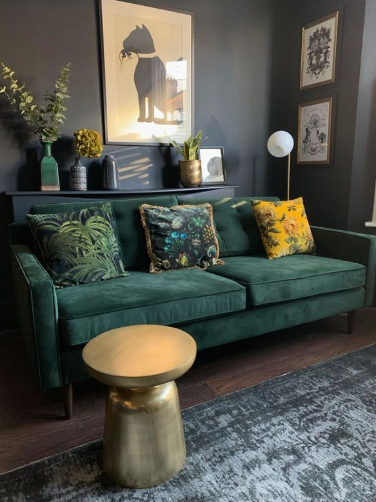 Go Green This Summer! Here's The Best Green Living Room Ideas green living room Go Green This Summer! Here's The Best Green Living Room Ideas 39ae7c735e4f6cb9268b74fd370d5fbb 1