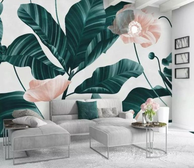 Floral Wallpapers For A Summer Living Room Decor floral wallpapers Floral Wallpapers For A Summer Living Room Decor 5887802e96dbc422580b66ca5f3f4019 1