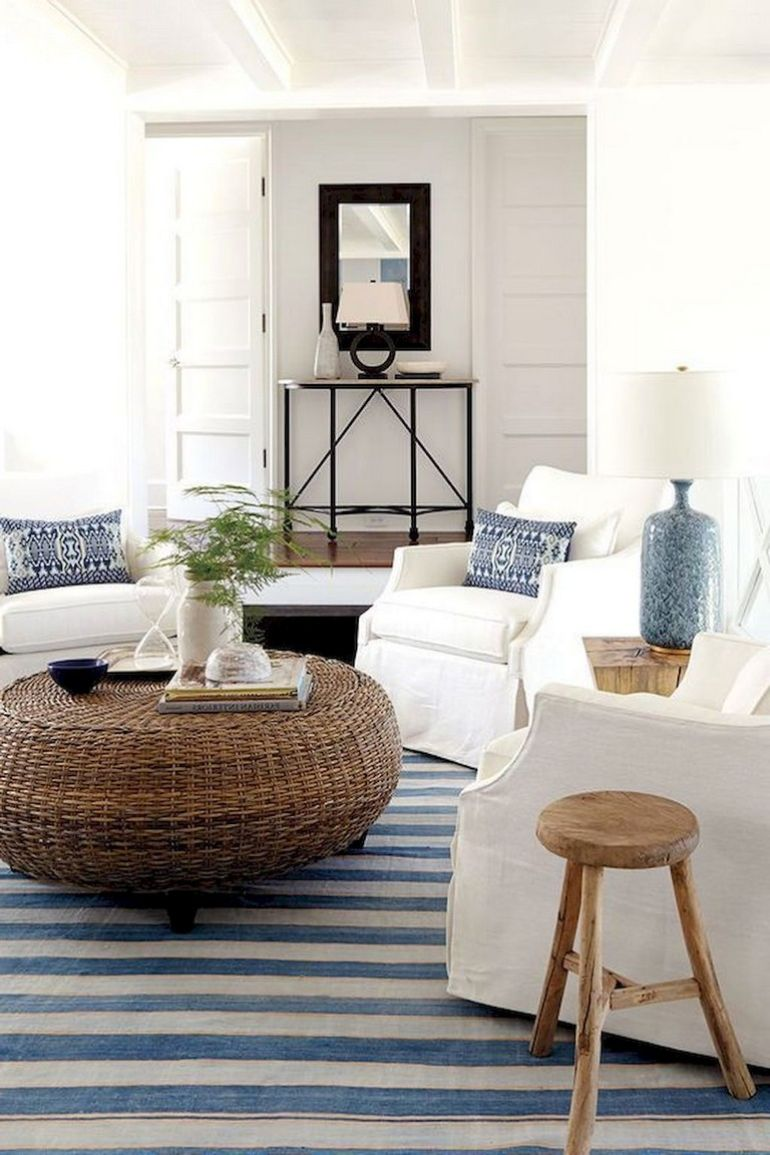 Pick your favorite Beach Living Room And Enjoy Your All Year Vacation beach living room Pick your favorite Beach Living Room And Enjoy Your All Year Vacation Comfortable Coastal Style Living Room Decor Ideas 01 1