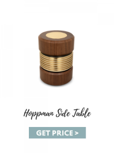 living room color trends Living Room Color Trends: A Touch Of Yellow For Summer hoppman side table 225x300