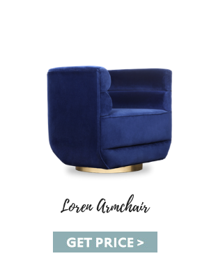 4th of july 4th Of July Is Coming! Get Inspired With These Home Decor Trends loren armchair blue