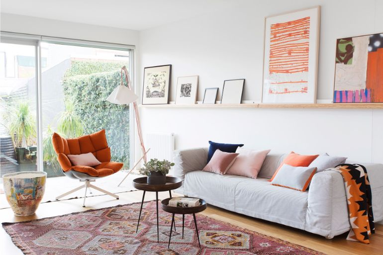 How to Use Terracotta on Your Autumn Living Room Decor