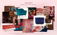 velvet living room decor Trend Alert: Velvet Living Room Decor Is Here To Stay! Trend Alert  Velvet Living Room Decor Is Here To Stay feat 240x150
