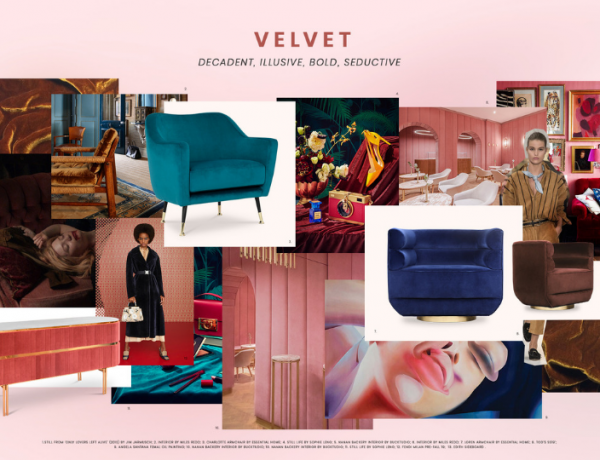 velvet living room decor Trend Alert: Velvet Living Room Decor Is Here To Stay! Trend Alert  Velvet Living Room Decor Is Here To Stay feat 600x460