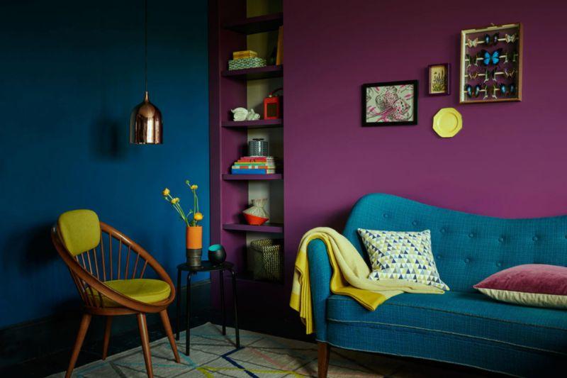 Maximalist Living Room Ideas That'll Maximize Your Life maximalist living room Maximalist Living Room Ideas That'll Maximize Your Life Maximalism Mid Century 1