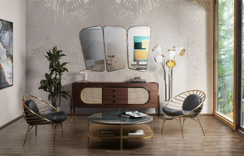 Mid-century Furniture To Glam Up Your Modern Living Room