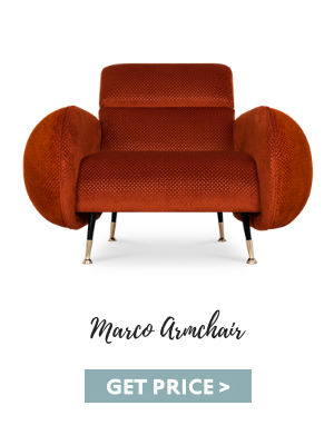 fall decor trends Fall Decor Trends For A Modern Living Room Of Your Dreams marco armchair