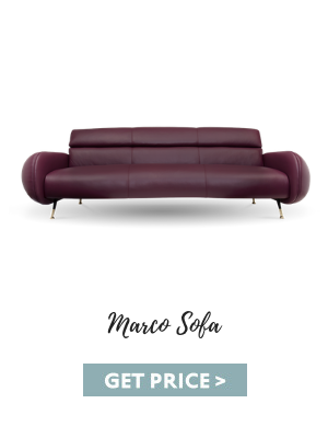 mid-century leather Mid-century Leather Seating Essentials For Your Vintage Living Room marco sofa